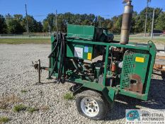 ESG MFG. MODEL OH1000S PORTABLE HYDRAULIC UNIT; S/N 15818, 4 CYL. CUMMINS, HOURS N/A **1 Williams