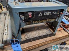 "12"" DELTA PORTABLE PLANER (8635 East Ave., Mentor, OH 44060 - John Magnasum: 440-667-9414)"