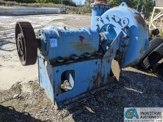 """14"""" INPUT-12"""" DISCHARGE GOULDS WATER PUMP NO. 1286, NO MOTOR **1 Williams Street, Grand River, OH"""