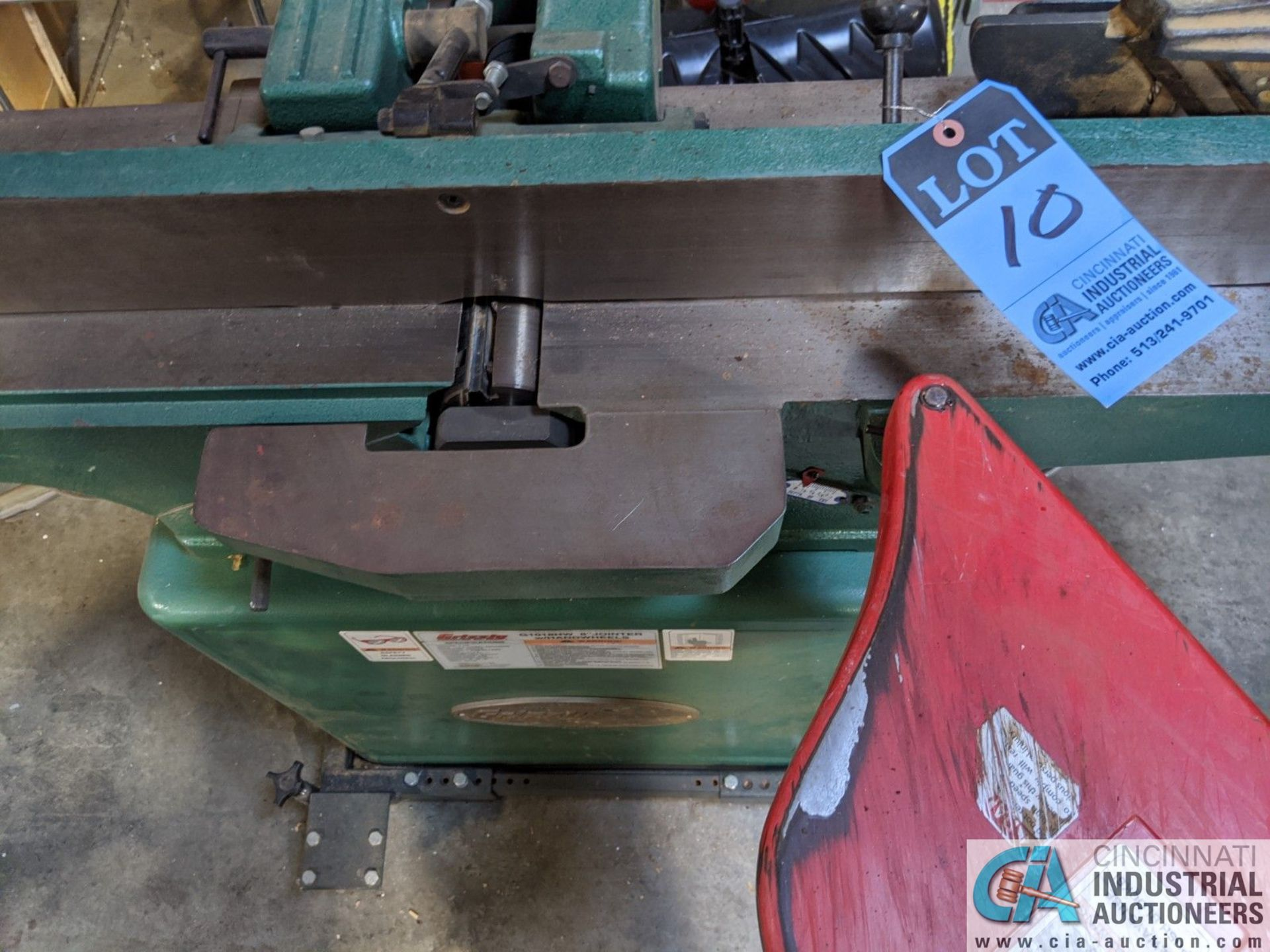 """8"""" GRIZZLY MODEL G1018HW JOINTER; S/N 6388108, 9"""" X 65"""" TABLE (8635 East Ave., Mentor, OH 44060 - - Image 2 of 7"""
