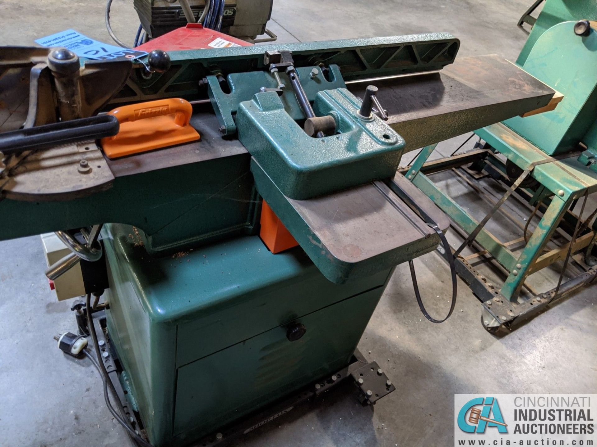 """8"""" GRIZZLY MODEL G1018HW JOINTER; S/N 6388108, 9"""" X 65"""" TABLE (8635 East Ave., Mentor, OH 44060 - - Image 4 of 7"""