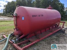 80 BARREL DICKERSON WATER TANK; S/N 4505 (220 Blackbrook Rd., Painsville, OH 44077 - Greg Papis: