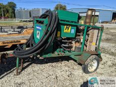 ESG MFG MODEL DH100CT PORTABLE HYDRAULIC UNIT; S/N 15166, 4 CYL. CUMMINS, 859 HOURS **1 Williams