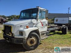 MODEL FL70 TRUCK CHASSIS; VIN # N/A, PARTS ONLY UNIT - SCRAP - 20' FRAME - NO BED, NO TITLE, **