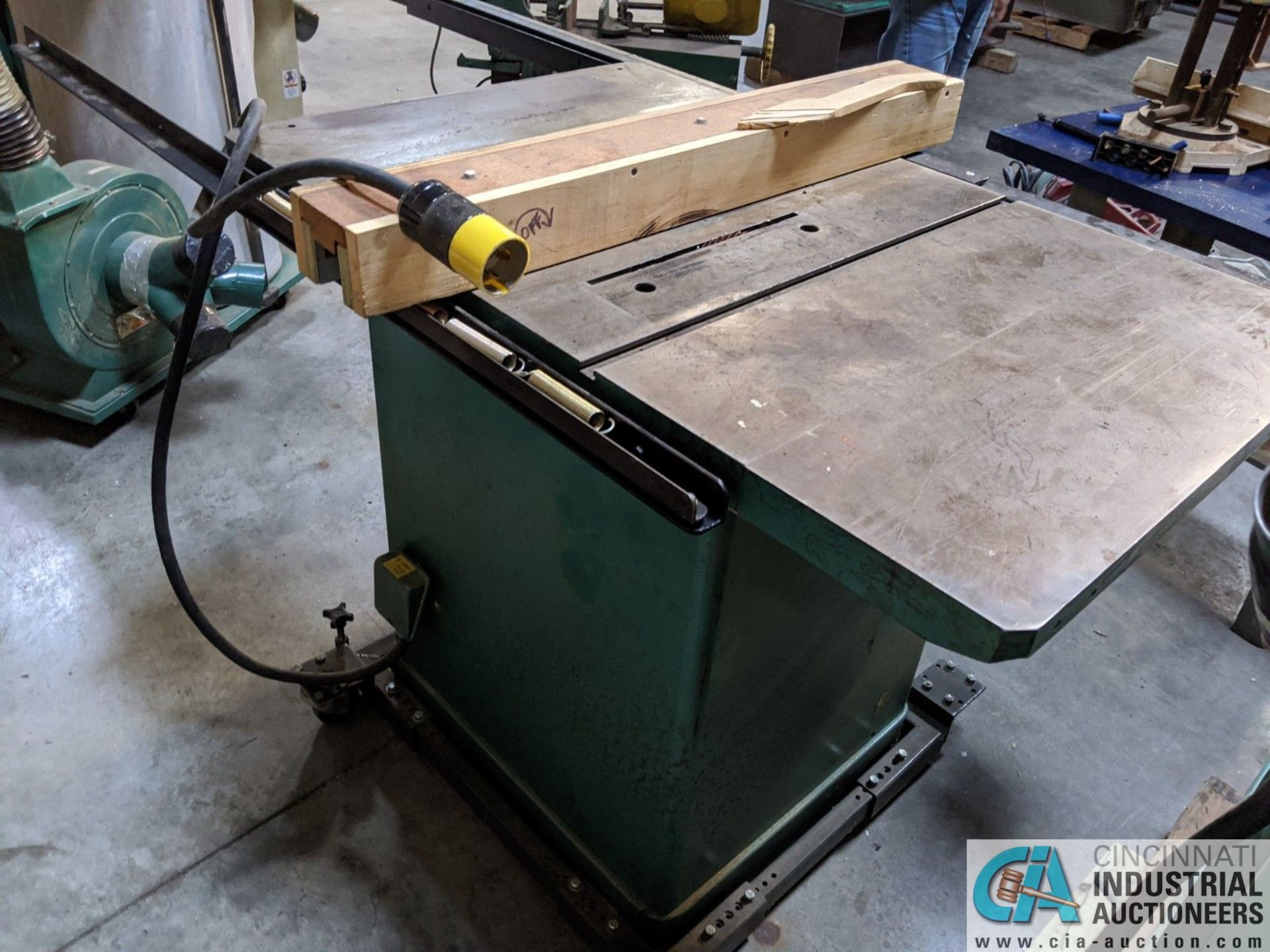 """12"""" GRIZZLY MODEL G5959 TABLE SAW; S/N 20431, 30"""" X 48"""" TABLE, RIP RENCE (8635 East Ave., Mentor, OH - Image 5 of 6"""