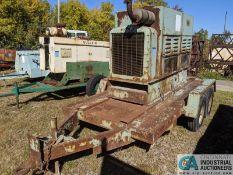 100 KW (APPROX.) LIMA GENERATOR SET ON TRAILER, DETROIT DIESEL ENGINE **7954 Reynolds Rd, Mentor, OH