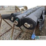 (LOT) CONSTRUCTION FABRIC W/ STEEL RACKS (8635 East Ave., Mentor, OH 44060 - John Magnasum: 440-