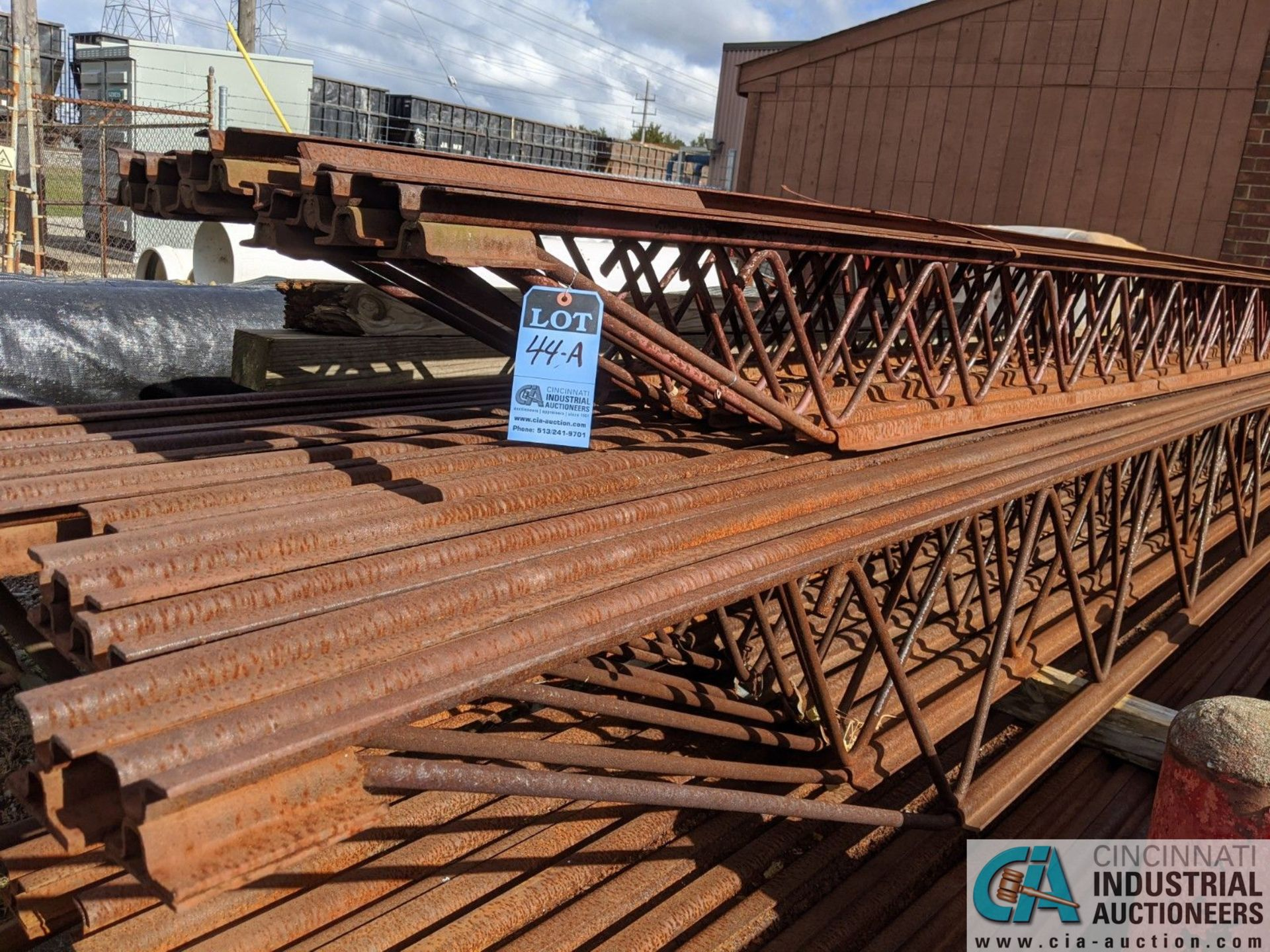 """STEEL TRUSSES; (8) 12"""" X 20', (10) 18"""" X 23' & (12) 18"""" X 22' (8635 East Ave., Mentor, OH 44060 - - Image 2 of 3"""