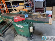 "8"" GRIZZLY MODEL G1018HW JOINTER; S/N 6388108, 9"" X 65"" TABLE (8635 East Ave., Mentor, OH 44060 -"