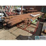 "(LOT) ASSORTED PUMP ROD; 2-1/2"" STEEL PIPE & 15' STEEL (8635 East Ave., Mentor, OH 44060 - John"