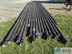 """JOINTS 4"""" X 35' DRILL PIPE (220 Blackbrook Rd., Painsville, OH 44077 - Greg Papis: 440-537-5127)"""