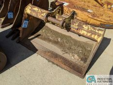 "48"" WIDE DITCH BUCKET FOR 410 JOHN DEERE (220 Blackbrook Rd., Painsville, OH 44077 - Greg Papis:"