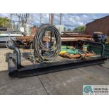 7' WIDE X 14' STEEL SKID (8635 East Ave., Mentor, OH 44060 - John Magnasum: 440-667-9414)