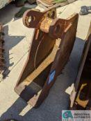"12"" WIDE TOOTH BUCKET FOR 410 JOHN DEERE (220 Blackbrook Rd., Painsville, OH 44077 - Greg Papis:"
