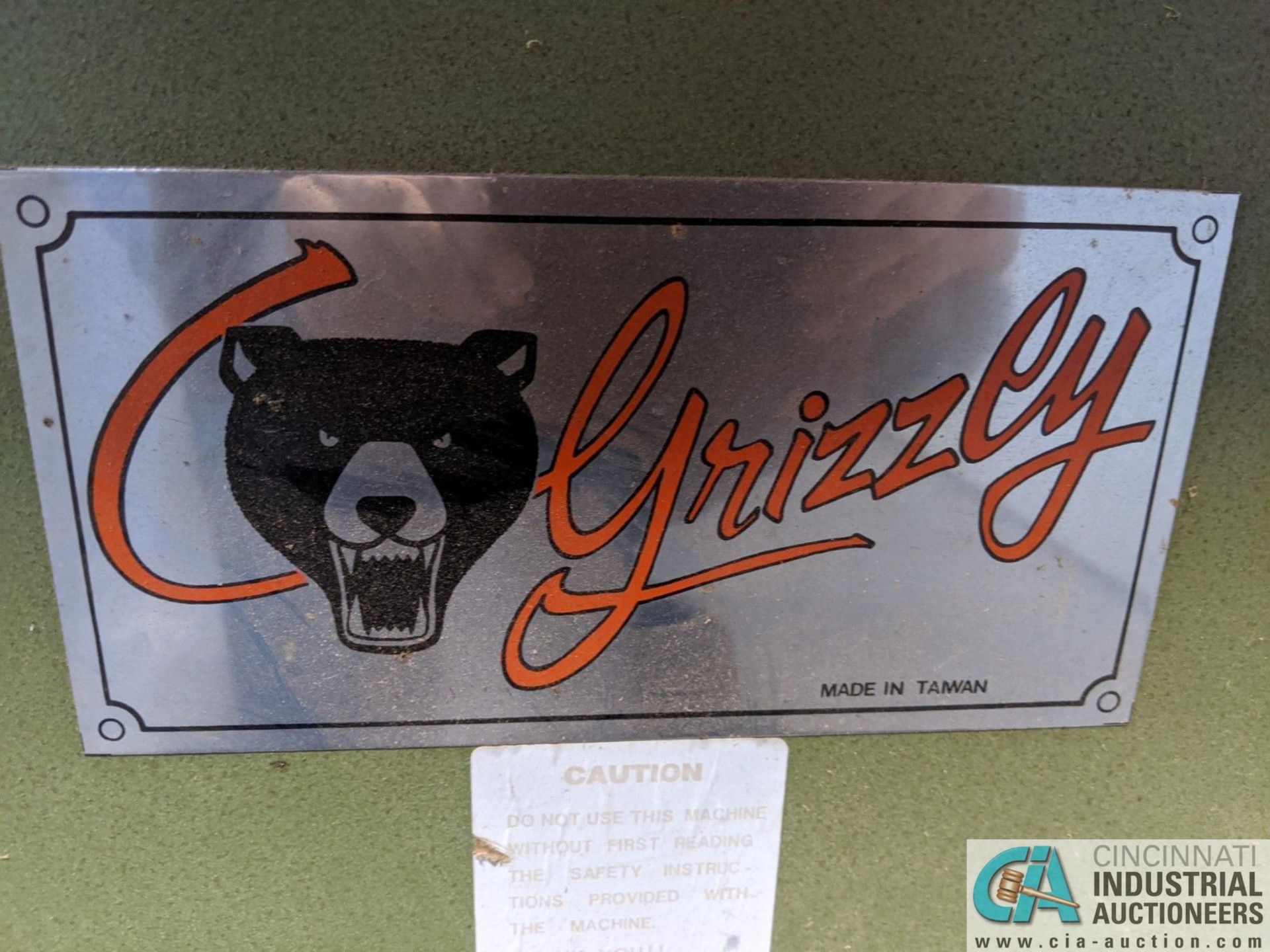 """3-HP GRIZZLY SHAPER; S/N N/A, 3"""" SPINDLE TRAVEL (8635 East Ave., Mentor, OH 44060 - John Magnasum: - Image 6 of 7"""
