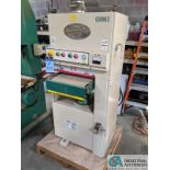 "15"" GRIZZLY MODEL G9983 BELT SANDER; S/N E02101817, 5-HP, SINGLE PHASE, 13 - 16 FPM (2013) (8635"