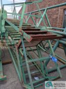(LOT) STEEL FRAME STEPS; APPROX. 10' LONG (8635 East Ave., Mentor, OH 44060 - John Magnasum: 440-