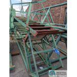 (LOT) STEEL FRAME STEPS; APPROX. 10' LONG (8635 East Ave., Mentor, OH 44060 - John Magnasum: 440-