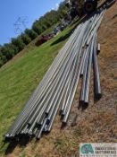 """JOINTS OF 4"""" DIA. X 45' LONG BLACK PLASTIC PIPE (220 Blackbrook Rd., Painsville, OH 44077 - Greg"""