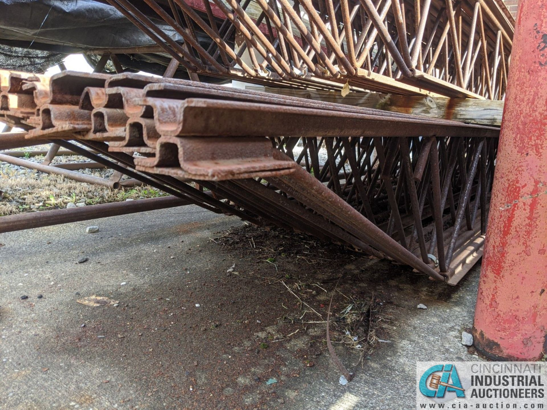 """STEEL TRUSSES; (8) 12"""" X 20', (10) 18"""" X 23' & (12) 18"""" X 22' (8635 East Ave., Mentor, OH 44060 - - Image 3 of 3"""