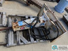 KENT MODEL KF4 HYDRAULIC SKID LOADER HAMMER ATTACHMENT; S/N 1657 (220 Blackbrook Rd., Painsville, OH