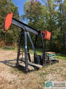 OILWELL PUMP JACK; D8 GEAR BOX, NO ELECTRIC MOTOR (5848 Vrooman Rd., Painsville, OH 44077 - Ron