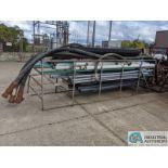 (LOT) RACK W/ PLASTIC PIPE (8635 East Ave., Mentor, OH 44060 - John Magnasum: 440-667-9414)