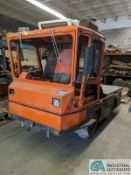 "RAVO MODEL 4000 COMPACT SWEEPER THAT IS CONVERTED TO A YARD TRUCK, 57"" X 84"" BED, HYDRASTATIC, 4"