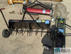 (LOT) LANDSCAPITS PULL BEHIND UNITS: AIREATORS & LAWN SWEEPER (220 Blackbrook Rd., Painsville, OH