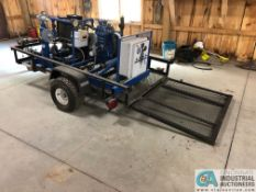 """48"""" X 84"""" SINGLE AXLE TRACTOR SUPPLY TRAILER W/ RAMPS & LIGHTS; TRAILER ONLY, NO CONTENTS - NO"""