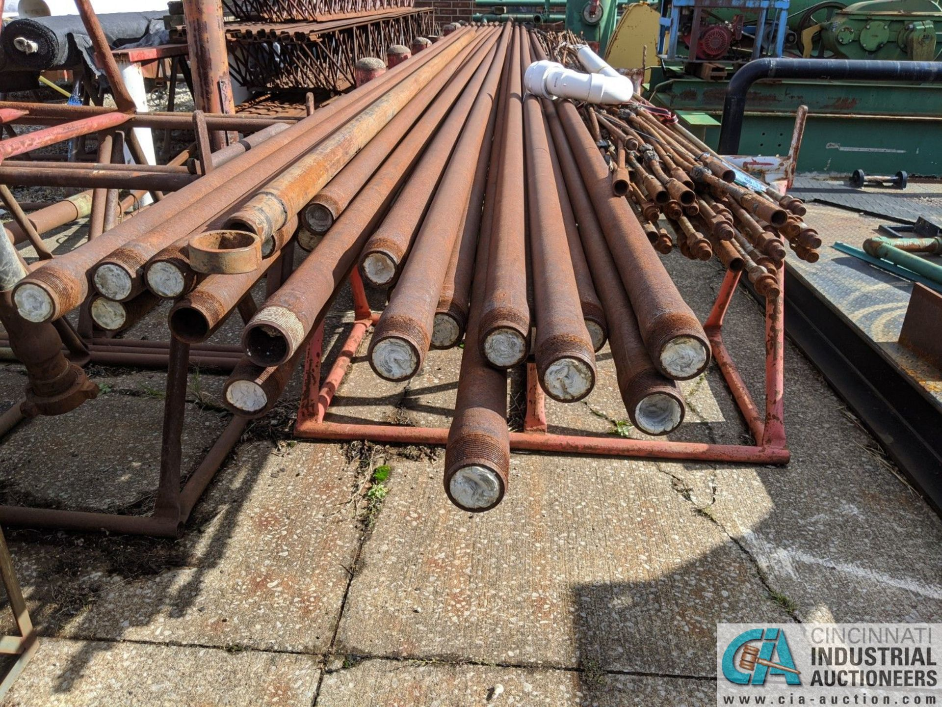 "(LOT) ASSORTED PUMP ROD; 2-1/2"" STEEL PIPE & 15' STEEL (8635 East Ave., Mentor, OH 44060 - John - Image 2 of 2"