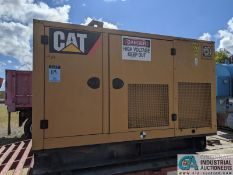 50 KVA CATERPILLAR MODEL D50-4S GENERATOR SET; S/N CAT00C44JN4D01144, CAT C4.4 ENGINE (2007) (220