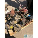 (LOT) SKID OF FITTINGS, PIPE VISE, OTHER (8635 East Ave., Mentor, OH 44060 - John Magnasum: 440-