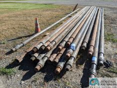 """JOINTS 4"""" X 35' COLLAR TYPE DRILL PIPE (220 Blackbrook Rd., Painsville, OH 44077 - Greg Papis: 440-"""