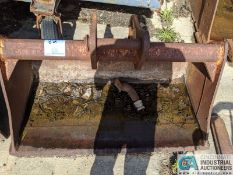 """48"""" WIDE DITCH BUCKET (220 Blackbrook Rd., Painsville, OH 44077 - Greg Papis: 440-537-5127)"""