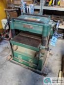 "20"" GRIZZLY MODEL G1033 PLANER; S/N 636874, 16 - 20 FPM (8635 East Ave., Mentor, OH 44060 - John"