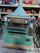 "24"" GRIZZLY MODEL 24"" EXTREME DUTY PLANER; SPIRAL CUTTER HEAD, 10-HP CUTTER HEAD, 20 - 40 FPM ("