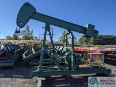LEE INTERNATIONAL MODEL PJ50A PUMP JACK; S/N 803010, HERRINGBONE GEAR REDUCER, NO ELECTRIC MOTOR, W/