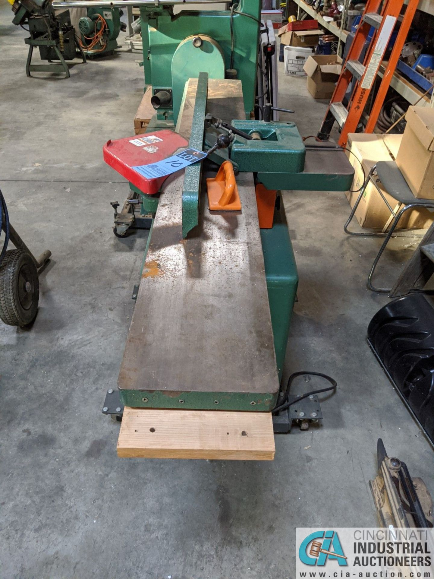"""8"""" GRIZZLY MODEL G1018HW JOINTER; S/N 6388108, 9"""" X 65"""" TABLE (8635 East Ave., Mentor, OH 44060 - - Image 5 of 7"""