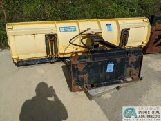 """108"""" WIDE WOLF SKID LOADER SNOW PLOW ATTACHMENT (220 Blackbrook Rd., Painsville, OH 44077 - Greg"""
