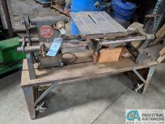 "15"" SHOP SMITH BELT TYPE WOODWORKING LATHE; S/N E546548, MOUNTED ON PORTABLE BASE (8635 East Ave.,"