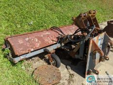 """JRB MODEL WA250 SWEEPER ATTACHMENT; S/N 0499-46193, 100"""" WIDE BROOM (220 Blackbrook Rd., Painsville,"""