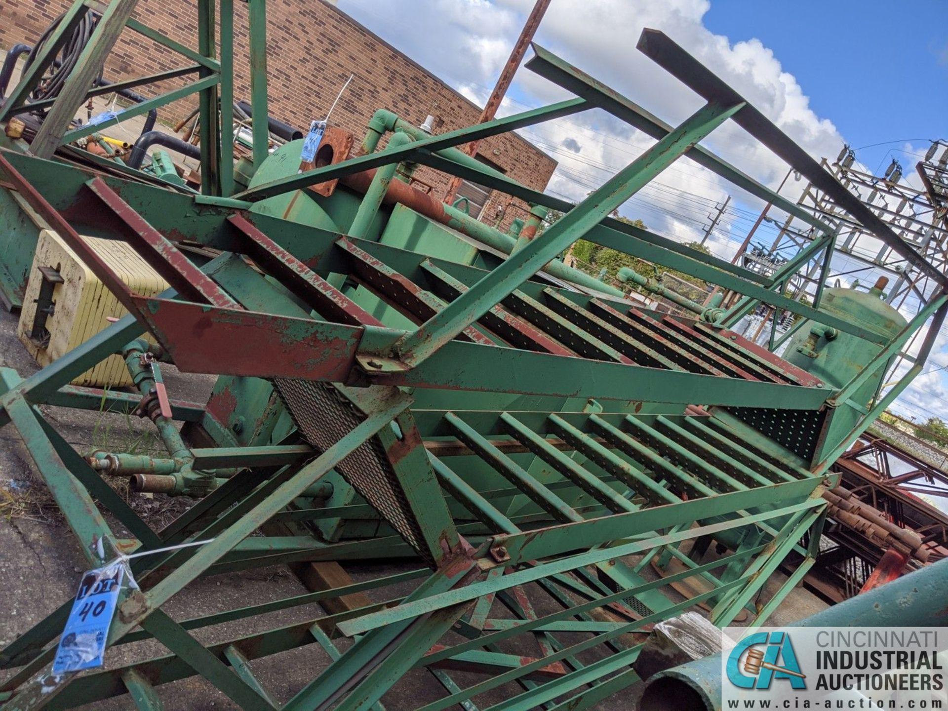 (LOT) STEEL FRAME STEPS; APPROX. 10' LONG (8635 East Ave., Mentor, OH 44060 - John Magnasum: 440- - Image 2 of 2