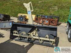 """74"""" WIDE BUHLER MODEL YC7420 3-PT HITCH - PTO DRIVEN SNOW BLOWER; S/N 74010800 (220 Blackbrook"""