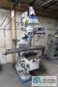 3 HP ACRA VERTICAL MILLING MACHINE; S/N N/A, ACU-RITE DRO, SPINDLE SPEED 60-4,200 RPM **LOADING
