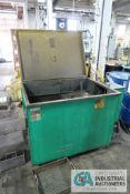 GRAY-MILLS MODEL T-4330-B CLEAN-O-MATIC PARTS WASHER; S/N N/A, ASSET # 106902, 1-1/2 HP MOTOR,
