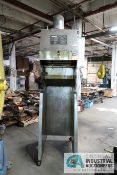 GILES ENTERPRISE MODEL FSH-2A STAINLESS STEEL VERTICAL PARTS WASHER; S/N 0302150216, WITH ANSEL RIOZ
