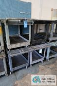 "24"" X 36"" RUBBERMAID SERVICE CARTS"