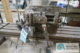 """4"""" FIXTURE MOUNTED DRILL VISE"""