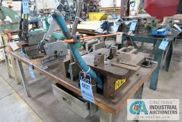 MANUFACTURER UNKNOWN BENCH MOUNT MULTI-PURPOSE HAND BENDER